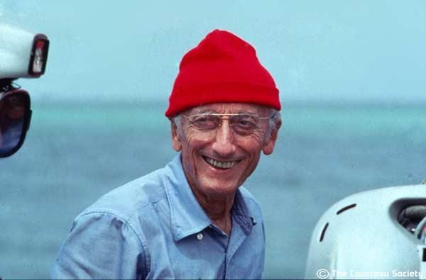 a biography of jacques cousteau a marine biologist