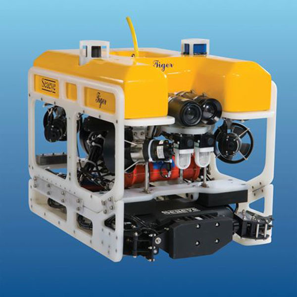 ROV in Doha, Qatar - A remotely operated underwater vehicle